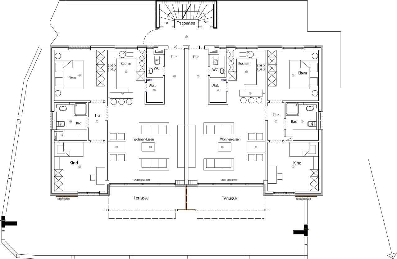 Faszinierend 1 zimmer wohnung einrichten beispiele bild for Wohnung einrichten grundriss
